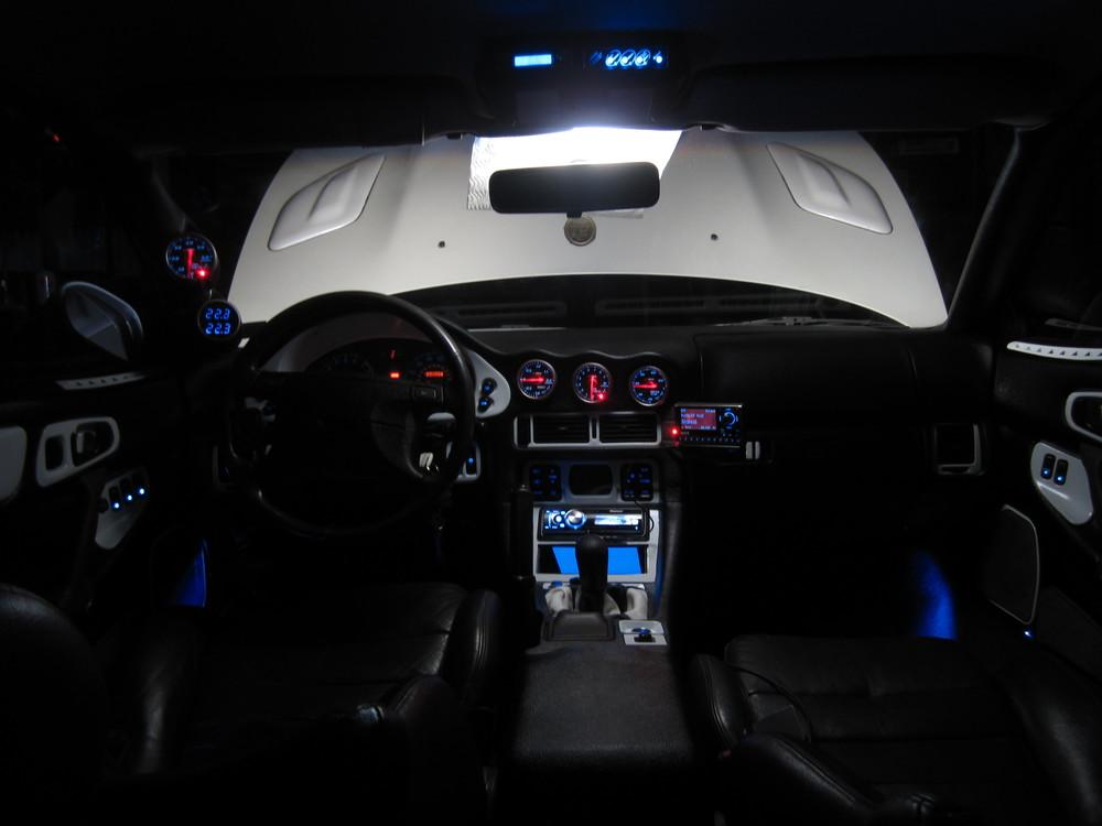 3000GT / Stealth / GTO - My latest interior night pics (5/11)